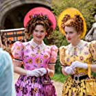 Holliday Grainger, Sophie McShera, and Lily James in Cinderella (2015)