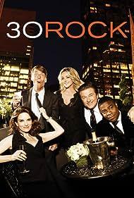 Alec Baldwin, Jane Krakowski, Tina Fey, Tracy Morgan, and Jack McBrayer in 30 Rock (2006)