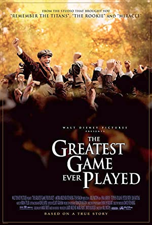 The Greatest Game Ever Played Poster Image