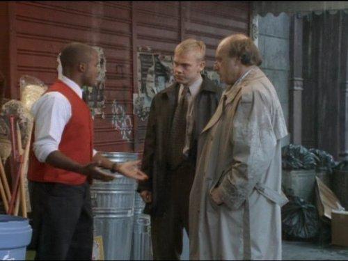 Dennis Franz, Ricky Schroder, and Damien Dante Wayans in NYPD Blue (1993)
