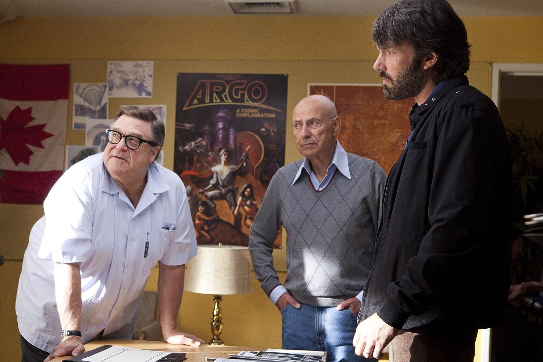 Ben Affleck, Alan Arkin, and John Goodman in Argo (2012)