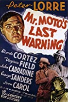 Mr. Moto's Last Warning (1939) Poster