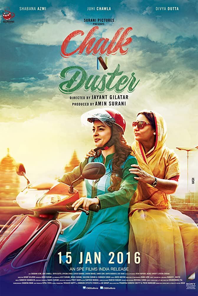 Chalk N Duster 2019 Hindi Dubbed 720p HDRip 800MB Free Download