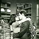 Jean-Paul Belmondo and Sandra Milo in Classe tous risques (1960)