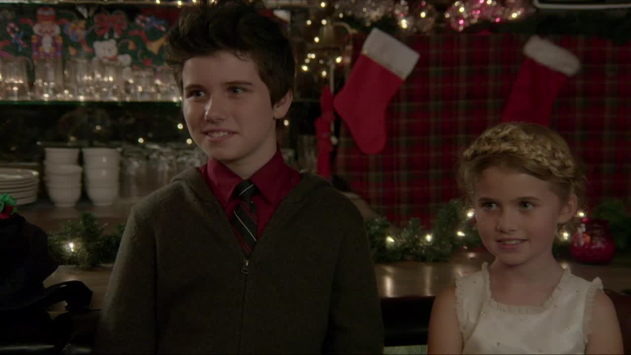 A Christmas Reunion.Alden Co Stars In The Movie A Christmas Reunion As Young Amy 2015