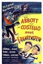 Abbott and Costello Meet Frankenstein Poster