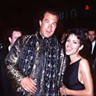 Steven Seagal and Halle Berry at an event for Executive Decision (1996)