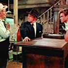 Spencer Tracy, Walter Brennan, and John Ericson in Bad Day at Black Rock (1955)