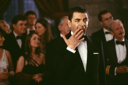 Rowan Atkinson in Johnny English (2003)