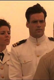 David James Elliott and Andrea Parker in JAG (1995)