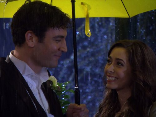 Josh Radnor and Cristin Milioti in How I Met Your Mother (2005)