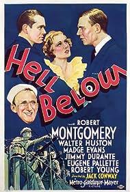 Jimmy Durante, Madge Evans, Walter Huston, and Robert Montgomery in Hell Below (1933)