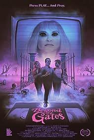 Barbara Crampton, Graham Skipper, Brea Grant, and Chase Williamson in Beyond the Gates (2016)
