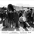 Ward Bond, Jane Darwell, Francis Ford, and Russell Simpson in Wagon Master (1950)