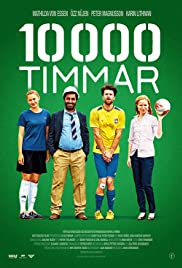10 000 timmar Poster