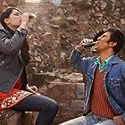 Ranbir Kapoor and Nargis Fakhri in Rockstar (2011)