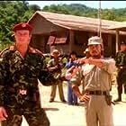Jang-Lee Hwang and Matthias Hues in No Retreat, No Surrender 2: Raging Thunder (1987)