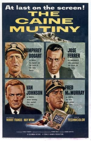 The Caine Mutiny poster