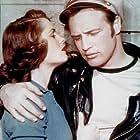 """Wild One, The"" Mary Murphy, Marlon Brando 1954 Columbia"