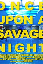 Once Upon a Savage Night Poster