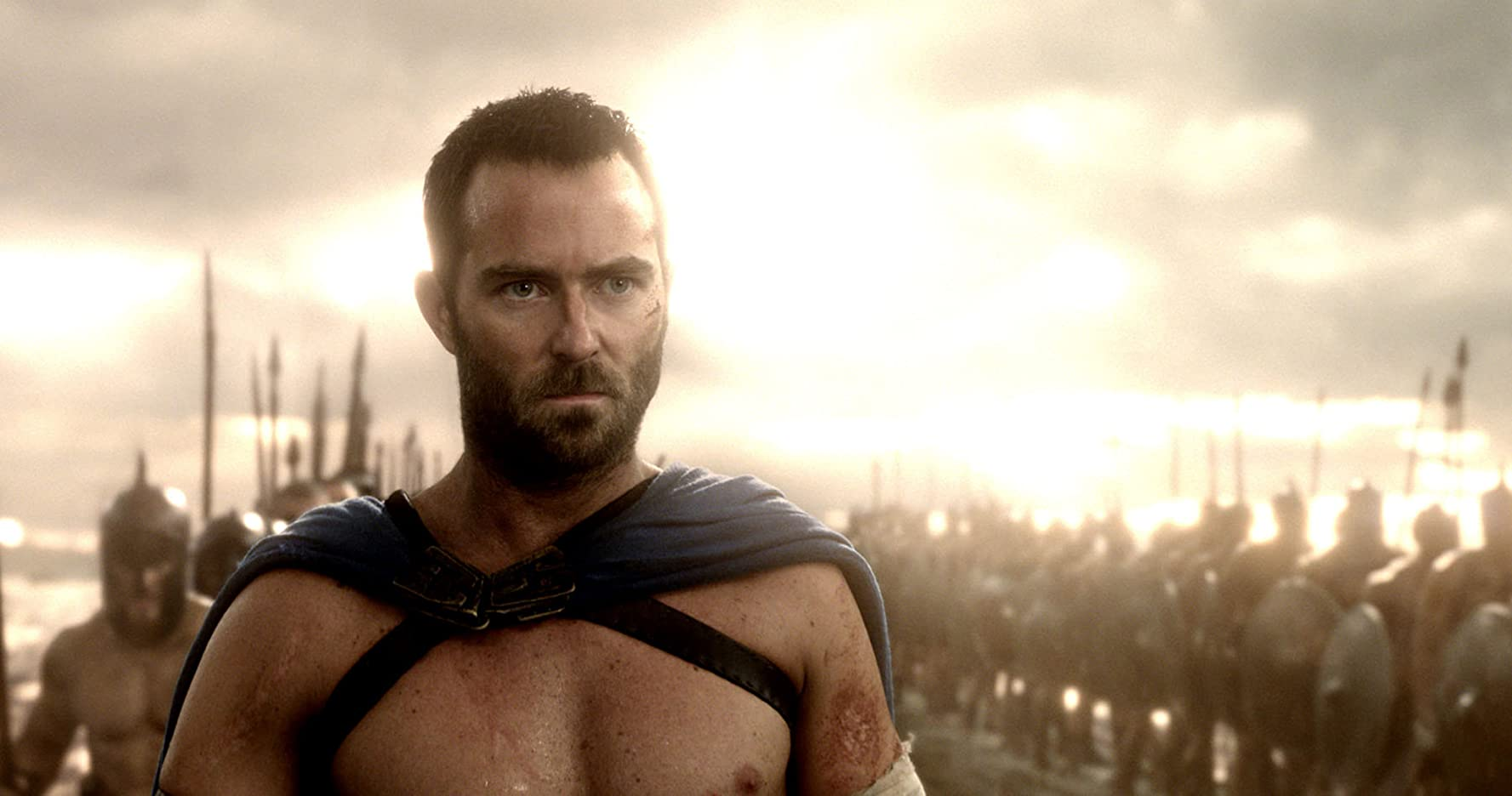 Sullivan Stapleton as Themistokles in Warner Bros. Pictures' and Legendary Pictures' action adventure 300: Rise Of An Empire, a Warner Bros. Pictures release.