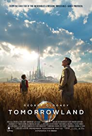 George Clooney and Thomas Robinson in Tomorrowland (2015)