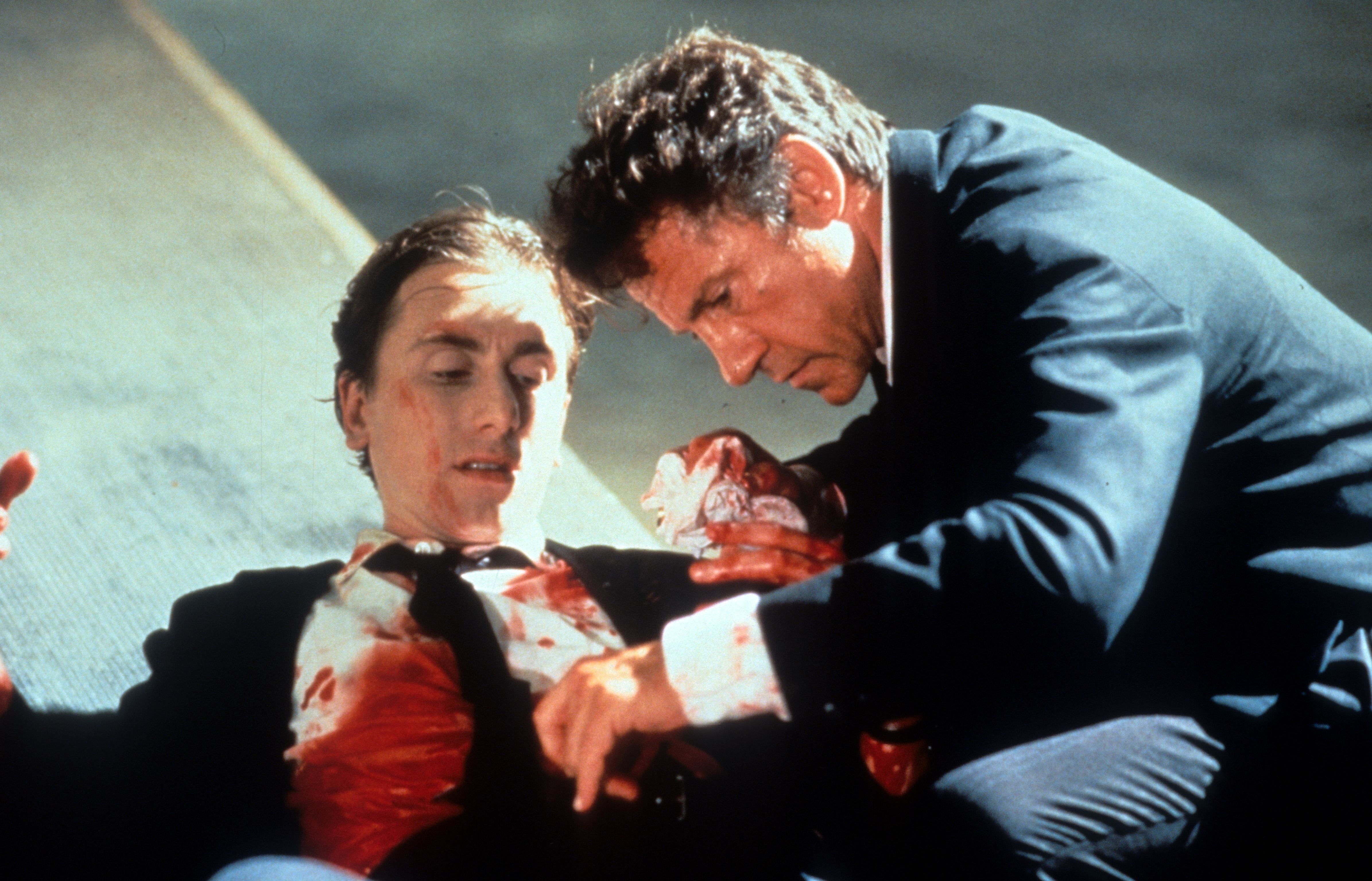 Harvey Keitel and Tim Roth in Reservoir Dogs (1992)