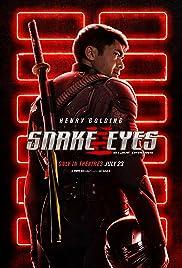 Movie Poster for Snake Eyes: G.I. Joe Origins.