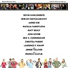 "Theatrical release poster for ""The Great Chicago Filmmaker"" with Christea Parent, Eric S. Cunningham, Josh Levine, James Kim, Devin Sanclemente, Sriram Parthasarathy, Natalia Samoylova, Matt Dealy, Dr. Laurence F. Knapp, and Monica Szaflik"