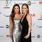 Jacqueline Pinol and Eva Longoria in 2009 Alma Awards (2009)