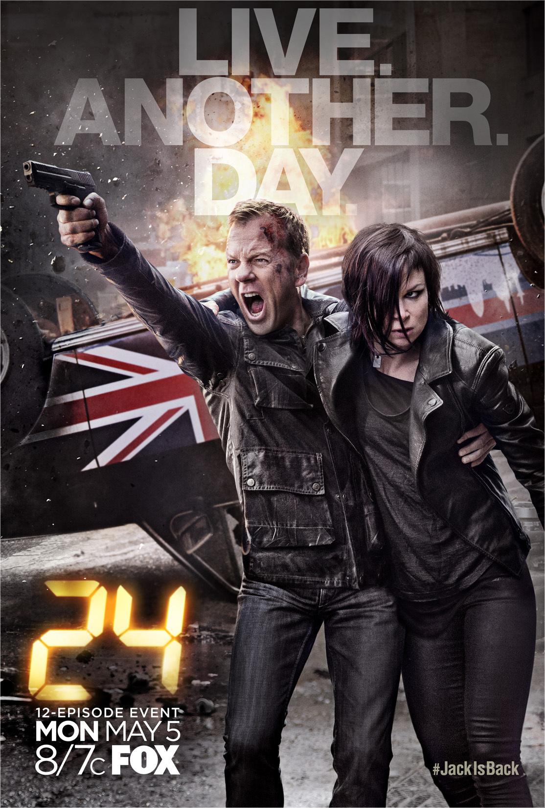 دانلود زیرنویس فارسی سریال 24: Live Another Day