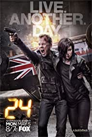 Kiefer Sutherland and Mary Lynn Rajskub in 24: Live Another Day (2014)
