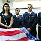 Al Sapienza, Ryan Robbins, Brian Van Holt, Tricia Helfer, Brandon P Bell, Tiffany Lonsdale, and Brandon Paul in Ascension (2014)