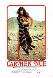 Carmen nue Poster