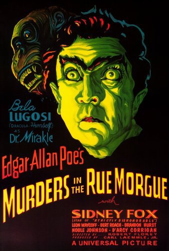 Bela Lugosi in Murders in the Rue Morgue (1932)