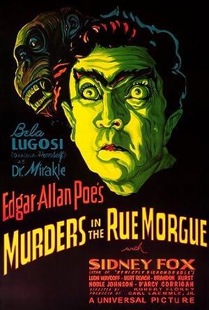 Where to stream Murders in the Rue Morgue