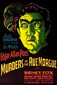 Primary photo for Murders in the Rue Morgue