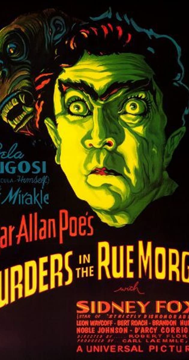 Subtitle of Murders in the Rue Morgue