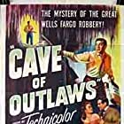 Macdonald Carey, Victor Jory, and Alexis Smith in Cave of Outlaws (1951)