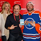 Lisa Kudrow, Kevin Pollak, and Kevin Smith at an event for Misery Loves Comedy (2015)