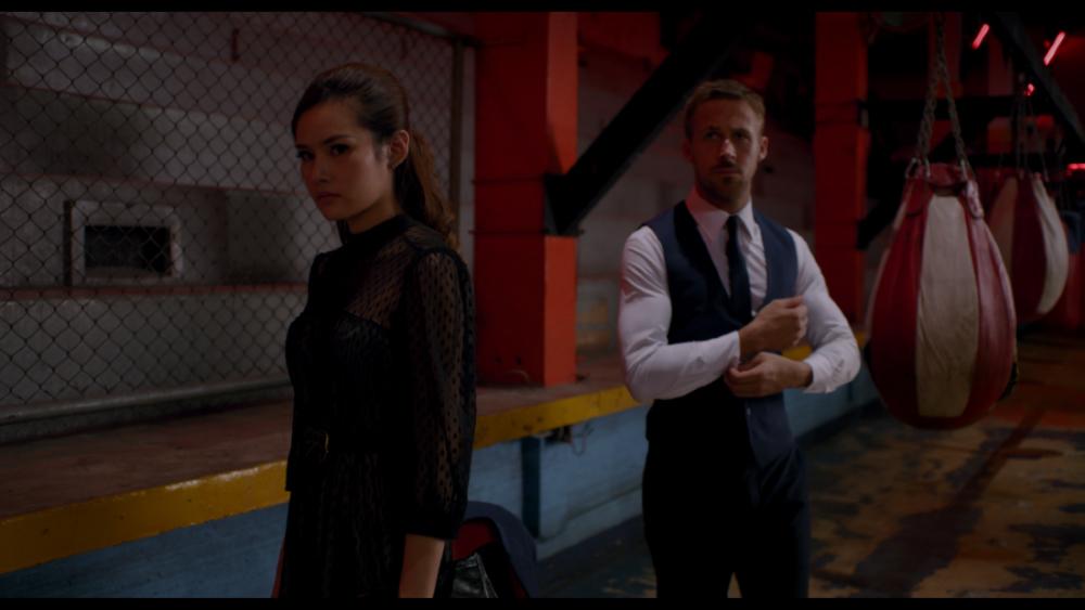 Ryan Gosling and Yayaying Rhatha Phongam in Only God Forgives (2013)