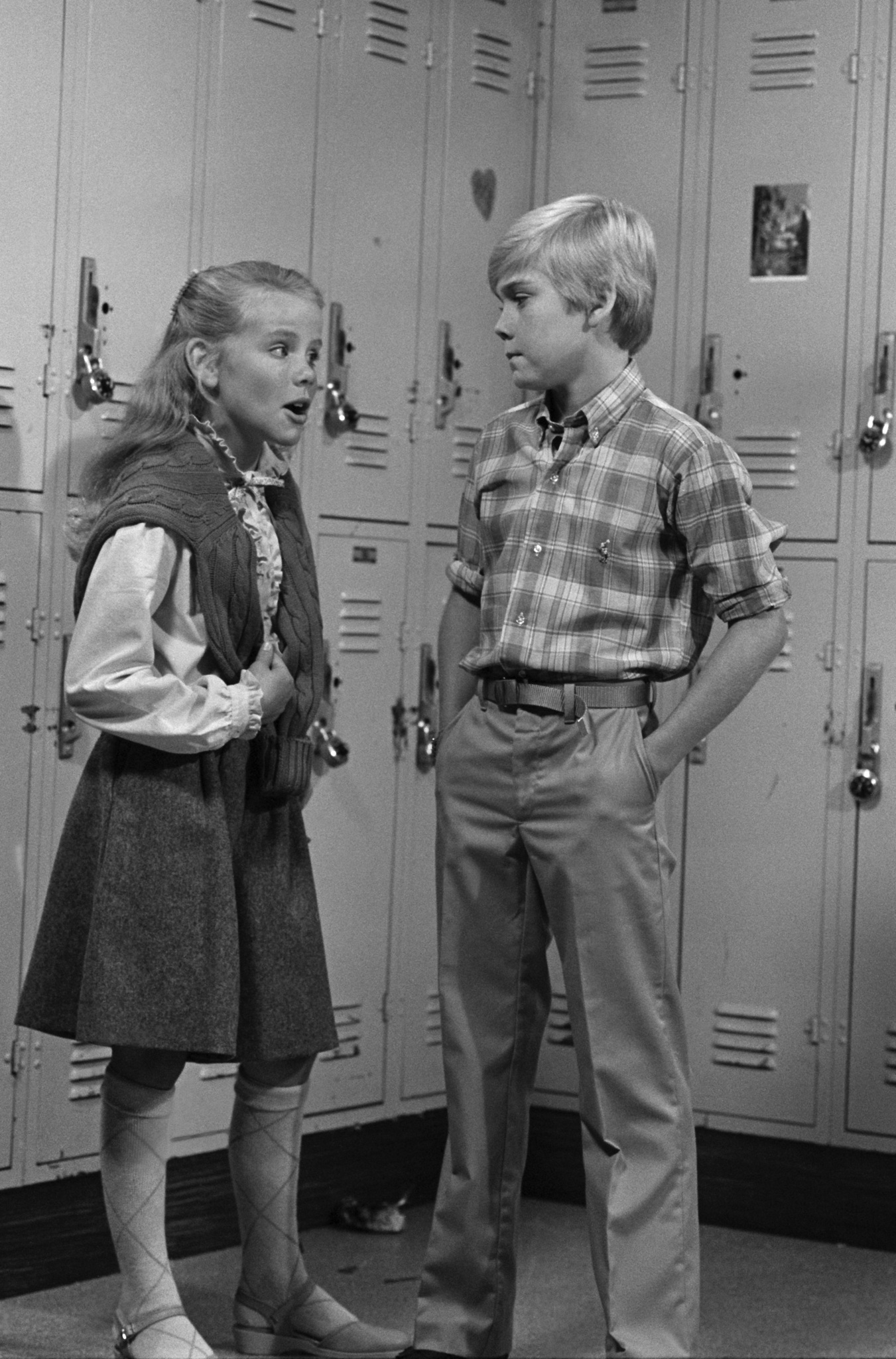 Amanda Peterson and Ricky Schroder in Silver Spoons (1982)