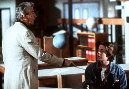 Paul Gleason and Cody McMains in Not Another Teen Movie (2001)