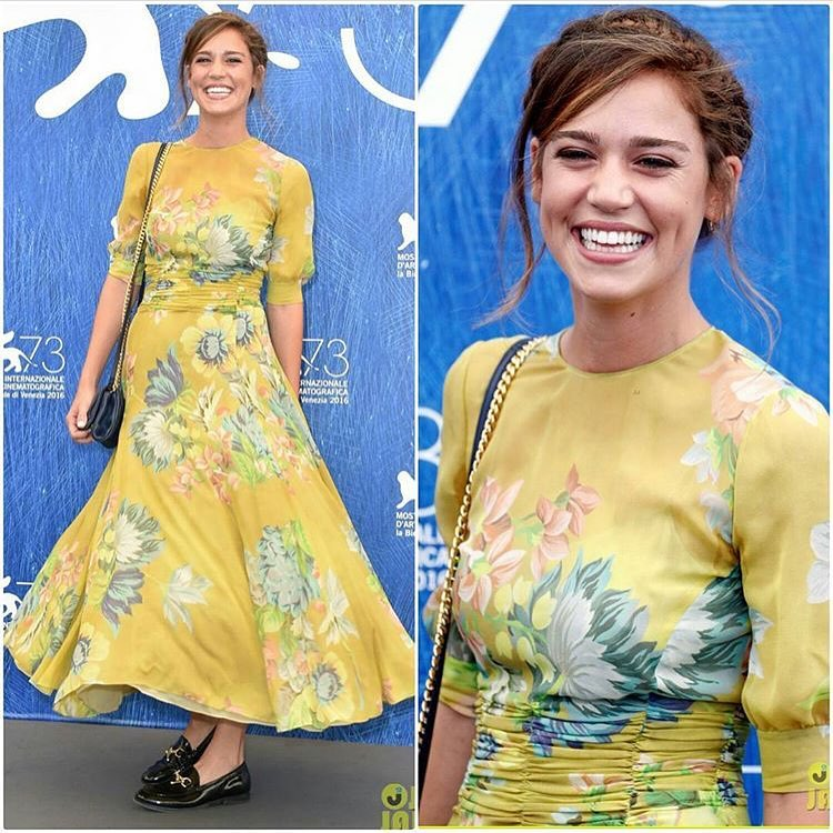 """Matilda lutz at photocell for """"Summertime"""""""