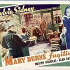 Melvyn Douglas and Sylvia Sidney in Mary Burns, Fugitive (1935)