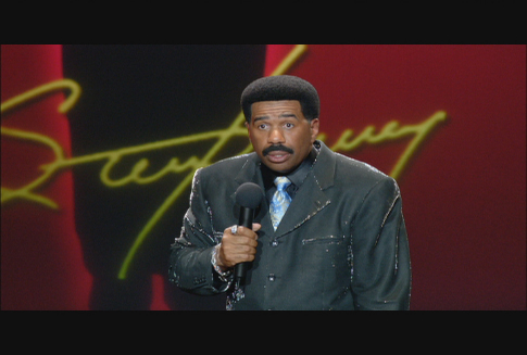 Steve Harvey - Dont Trip... He Aint Through With Me Yet!