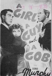 A Girl, a Guy, and a Gob Poster