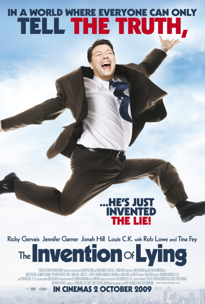 The Invention of Lying (2009) BluRay x264 AAC ESub Dual Audio [Hindi + English] 885MB