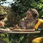Jeff Bridges and Mackenzie Foy in Le Petit Prince (2015)