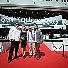 Actor Olafur Darri Olafsson, Actress Maria Birta Bjarnadottir, Director Marteinn Thorsson and Cinematographer Bergsteinn Björgulfsson @ The Karlovy Vary International Film Festival 2013